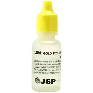 10K Gold Testing Acid Solution 0.5 oz.