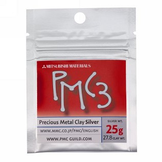 Silver Precious Metal Clay PMC3 - 25g