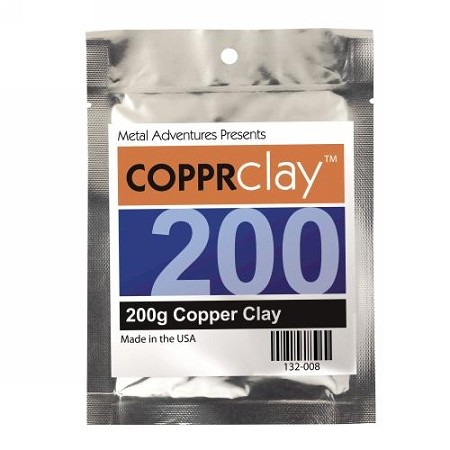 Copper Precious Metal Clay 200g