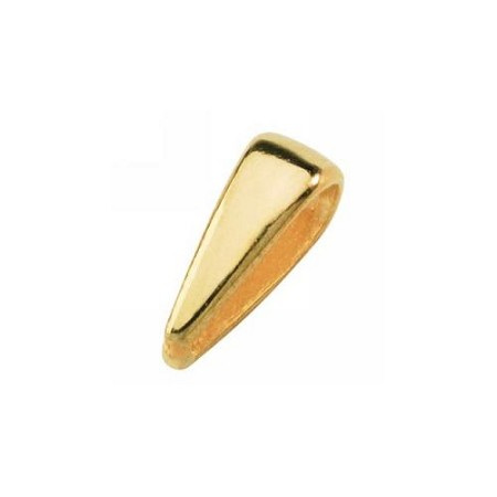 Small Cast Bail - 14KT Yellow Gold