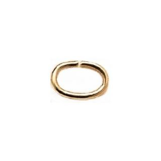 Oval Jump Rings Gold Filled 25/Pk