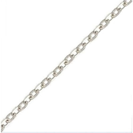 "Cable Chains 18"" .925 Sterling Silver"