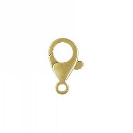 Lobster Clasp - Rounded 7.25X13.2mm 14K Yellow Gold