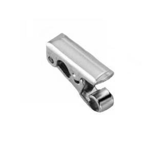 Clasp - Foldover 12 X 5MM Sterling Silver