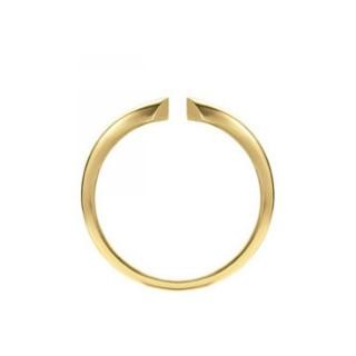 Ring Shanks - 4-Prong Half Round Heavy 14K Yellow Gold