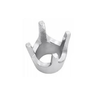 Sterling Silver Prong Jewelry Settings - Low Base Round Head .75ct