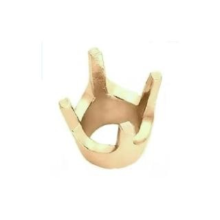4-Prong Round Low Base Setting 14K Yellow Gold