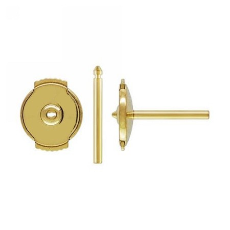 Guardian System Sets - Locking Earpost & Earnut  - 14K YG
