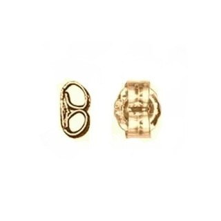 Ear Nut - Push On/Screw Off  14K Yellow Gold