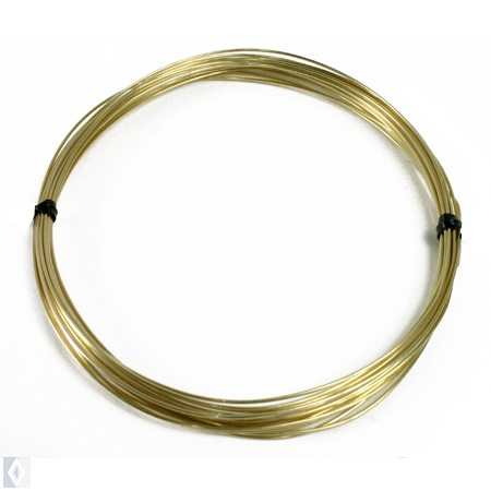 Round Brass Wire 20 Gauge, 20'  coil