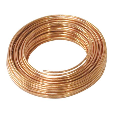 Round Copper Wire 22 Gauge 75' Coil