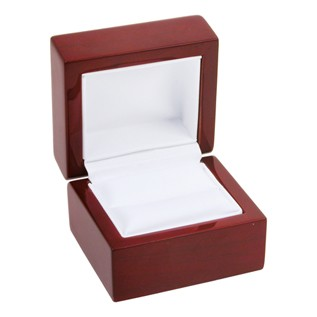 Boxes - Rosewood Single Ring Box
