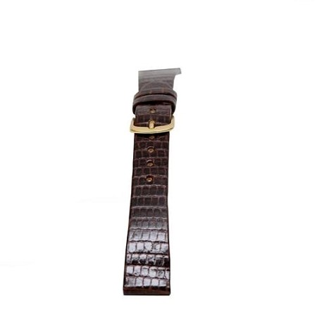 Ladies Brown Genuine Java Lizard Watch Band 14mm