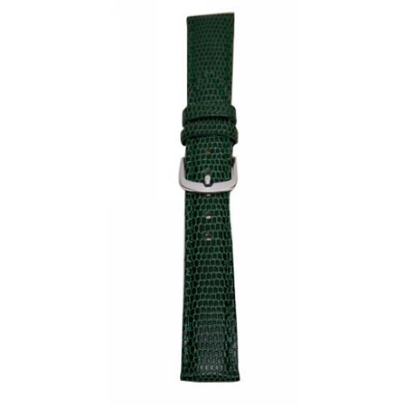 Ladies Green Java Lizard Grain Watch Band 14mm
