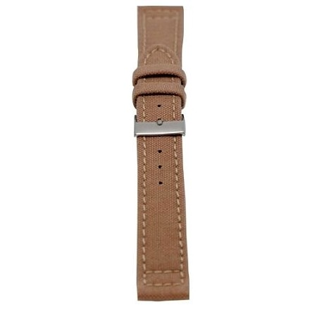 Men's Sand Genuine Cordura Watch Band 20mm