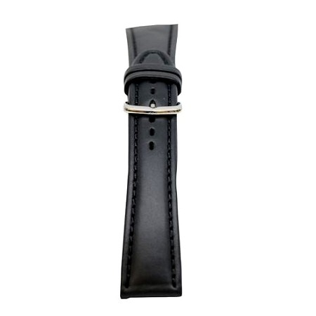 Men's Black Oil Tan Leather Watch Band 20mm