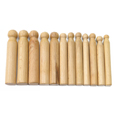 Wood Dapping Punch Set - 12 Pieces