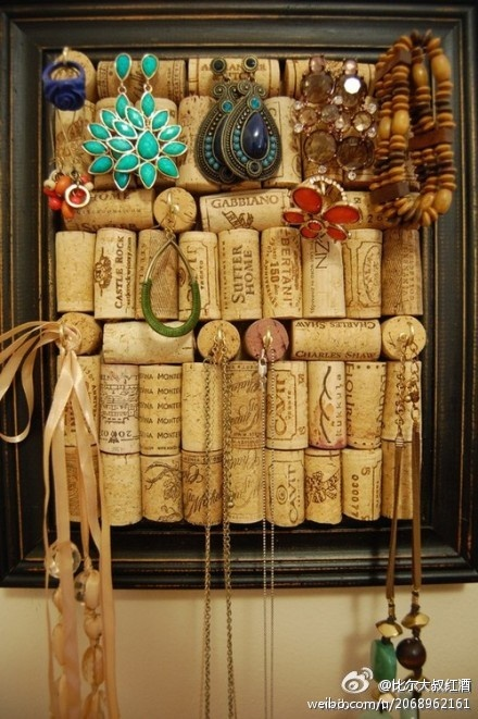 Cork Jewelry Display