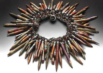 Pencil Necklace by Susan Lenart Kazmer