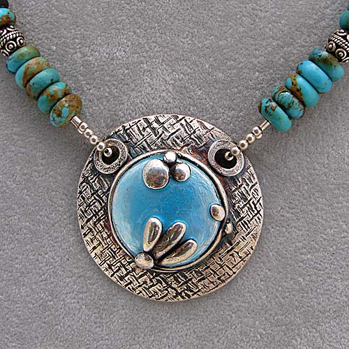 PMC Necklace by Susan Shahinian Designs