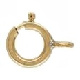 Clasps -  Spring Rings -  Chain Locking Gold Filled  5 pack