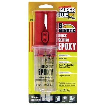 Five Minute Epoxy - 1 Oz Syringe